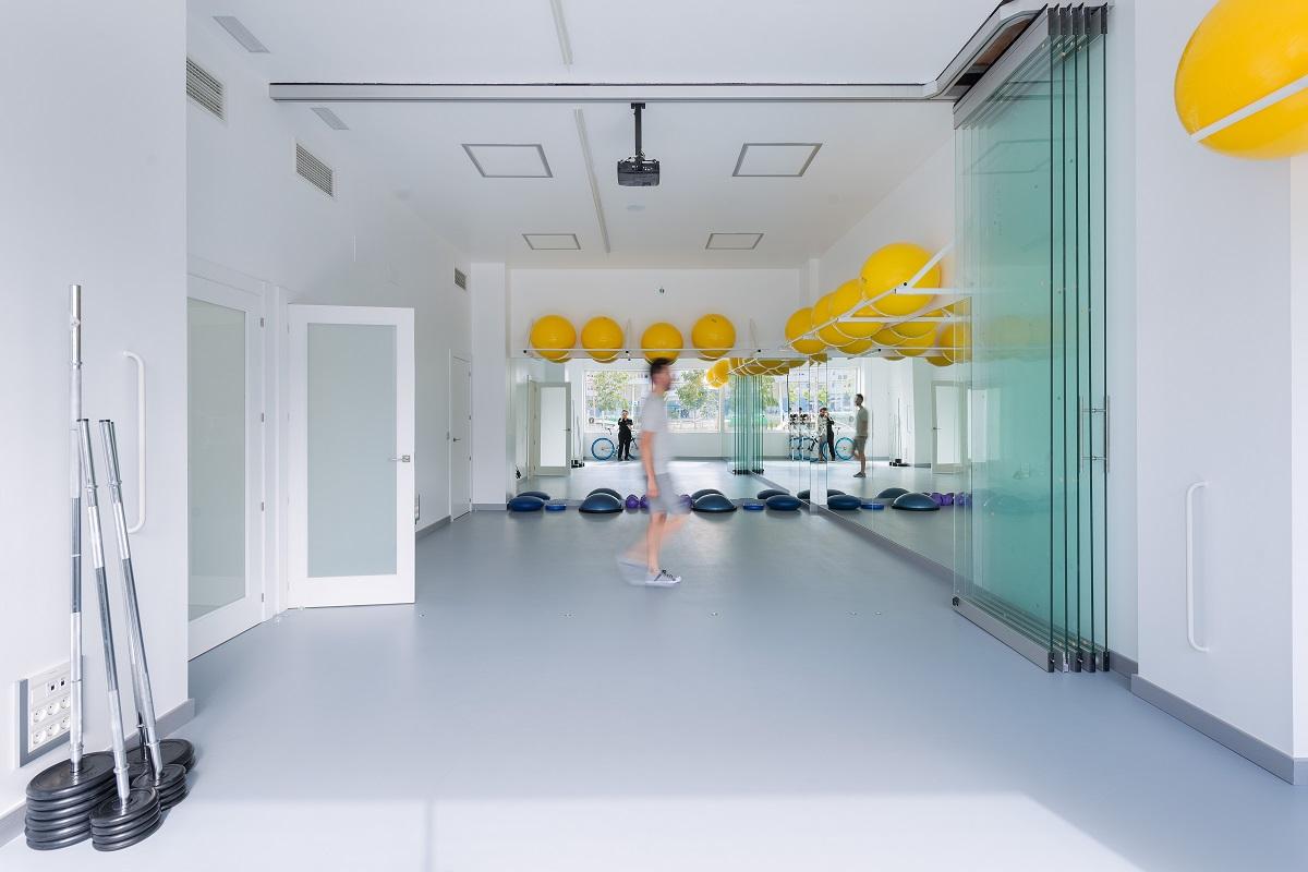 Gimnasio Aniento Fisioterapia PisaMoreno estudio